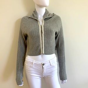 Open Ceremony Knitted gray sweater